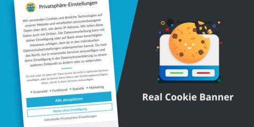Plugin Real Cookie Banner: Einfach genial!